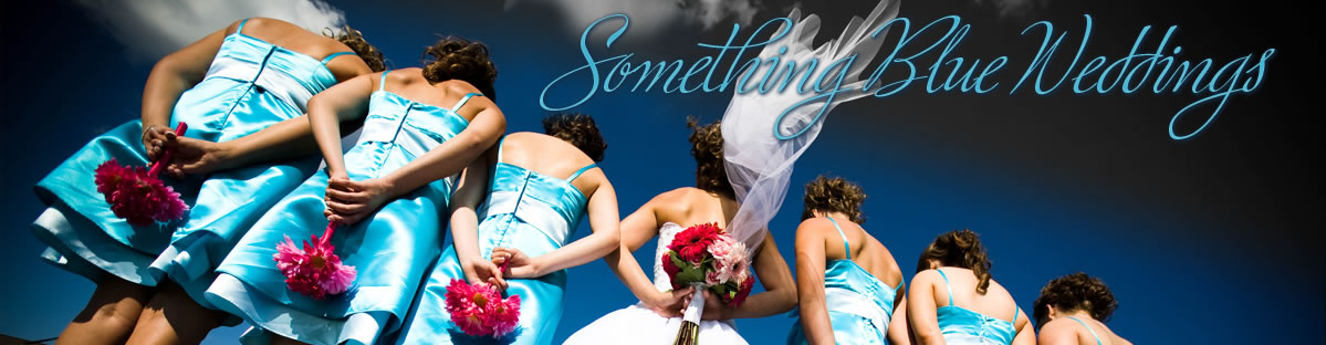 something blue wedding header
